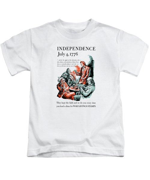 They Kept The Faith - Ww2 Kids T-Shirt