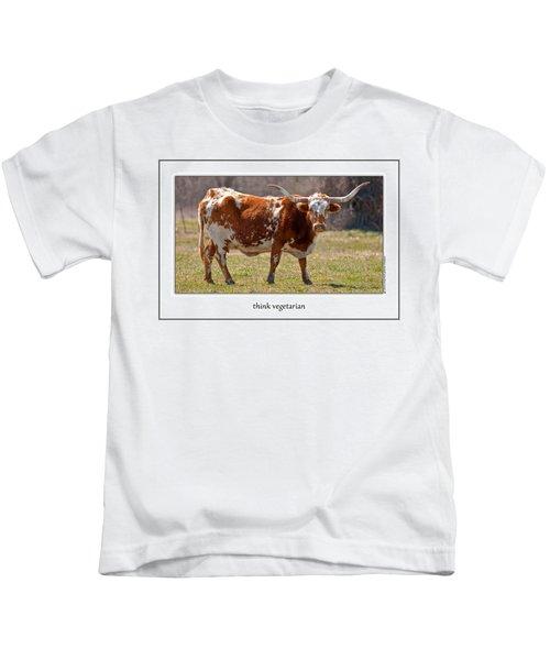 Think Vegetarian Kids T-Shirt