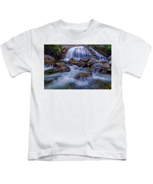 Thompson Falls, Pinkham Notch, Nh Kids T-Shirt