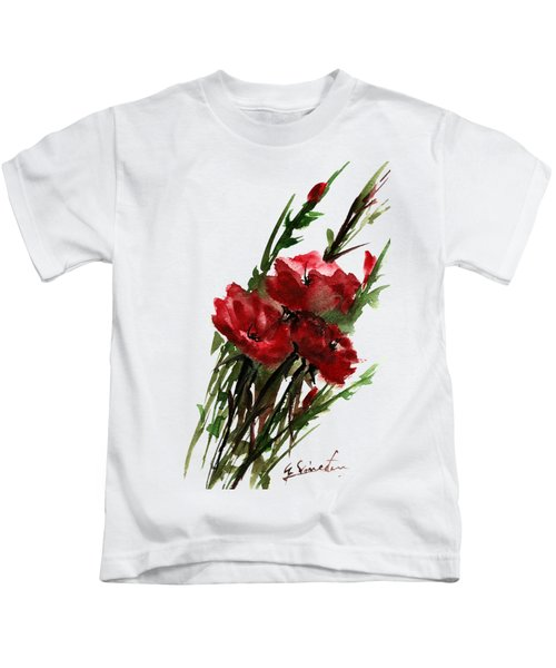Three In A Bunch Kids T-Shirt