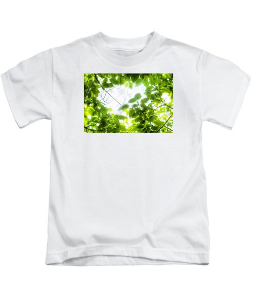 Through The Leaves Kids T-Shirt