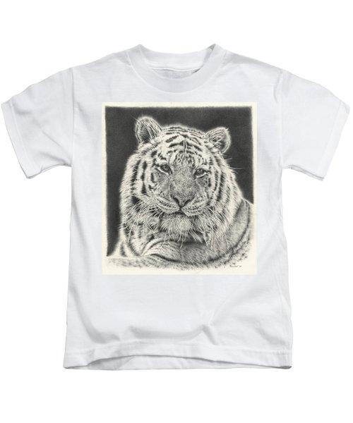 Tiger Drawing Kids T-Shirt