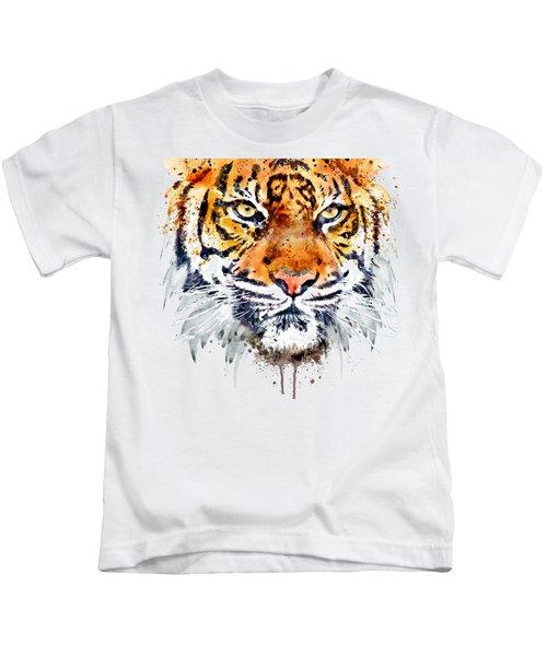 Tiger Face Close-up Kids T-Shirt