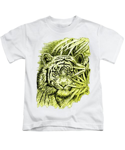 Tiger - King Of The Jungle Kids T-Shirt