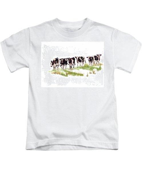 Till The Cows... Kids T-Shirt