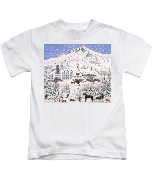 Timberline Lodge Kids T-Shirt