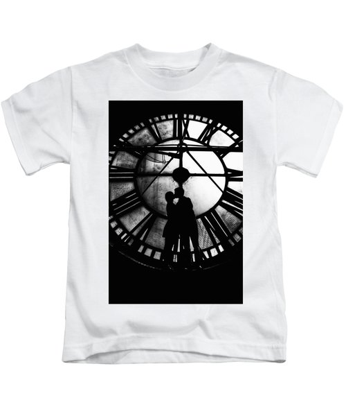 Timeless Love - Black And White Kids T-Shirt