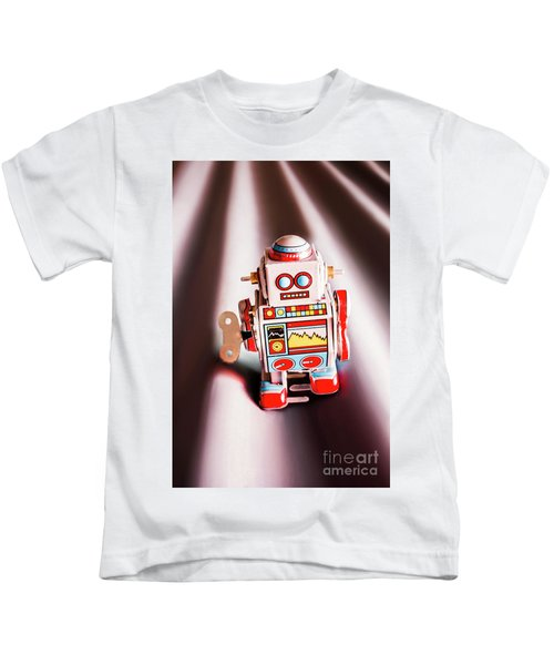 Tin Toys From 1980 Kids T-Shirt