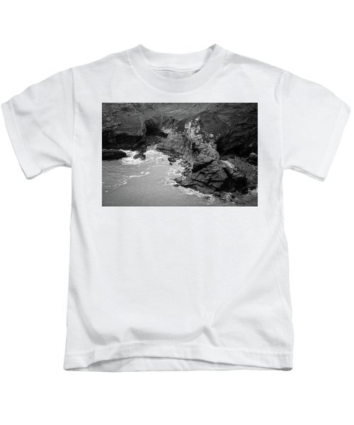 Tintagel Rocks Kids T-Shirt