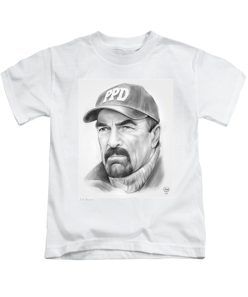 Tom Selleck Kids T-Shirt