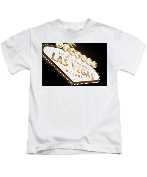 Tonight In Vegas Kids T-Shirt