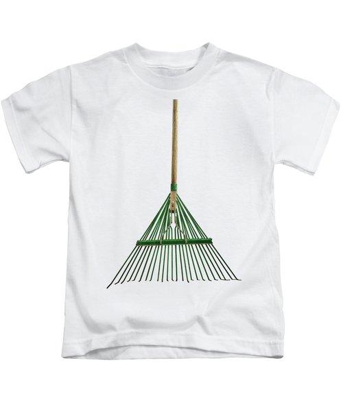 Tools On Wood 10 On Bw Kids T-Shirt