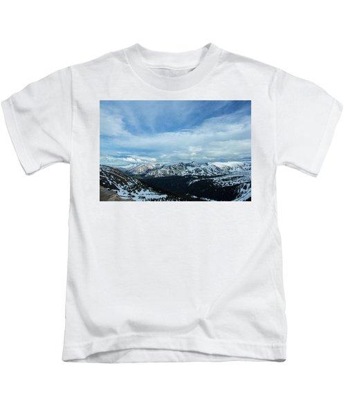 Top Of The Rockies Kids T-Shirt