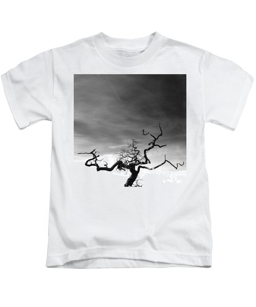 Tormented In Grey Kids T-Shirt