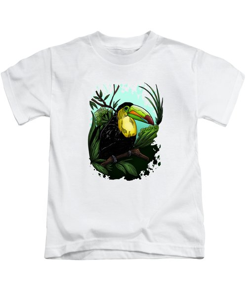Toucan Kids T-Shirt by Adam Santana