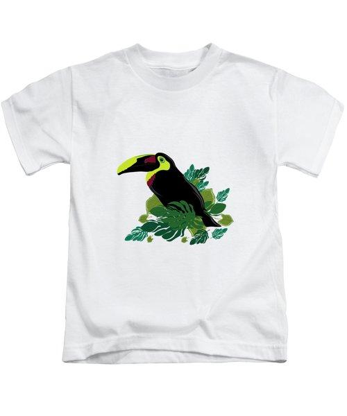 Toucan Kids T-Shirt by Vanessa GFG