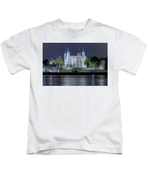 Tower Of London Kids T-Shirt by Joana Kruse