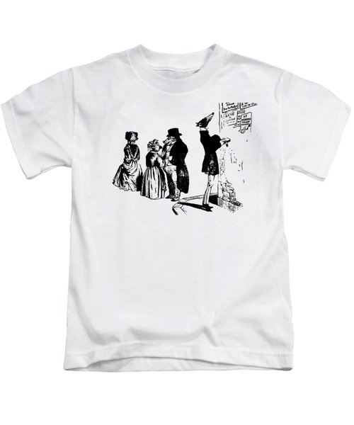 Town Square Grandville Transparent Background Kids T-Shirt