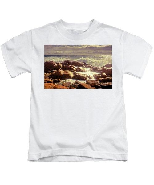 Tranquil Ocean Views Kids T-Shirt