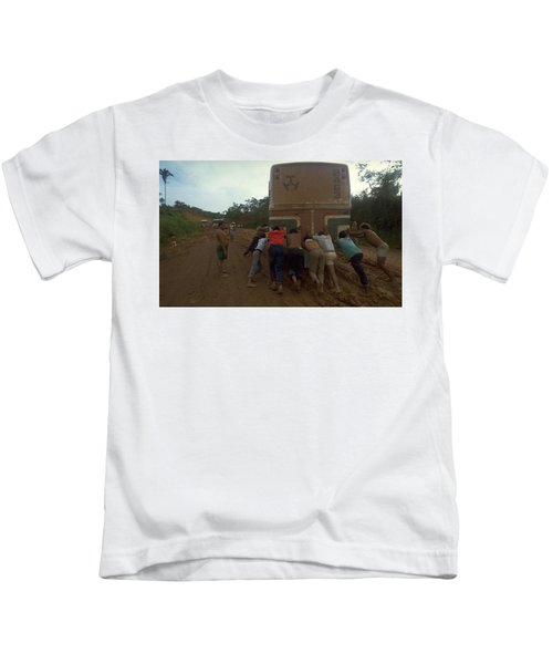 Trans Amazonian Highway, Brazil Kids T-Shirt