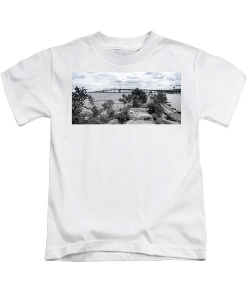 Traversing The Chesapeake Kids T-Shirt