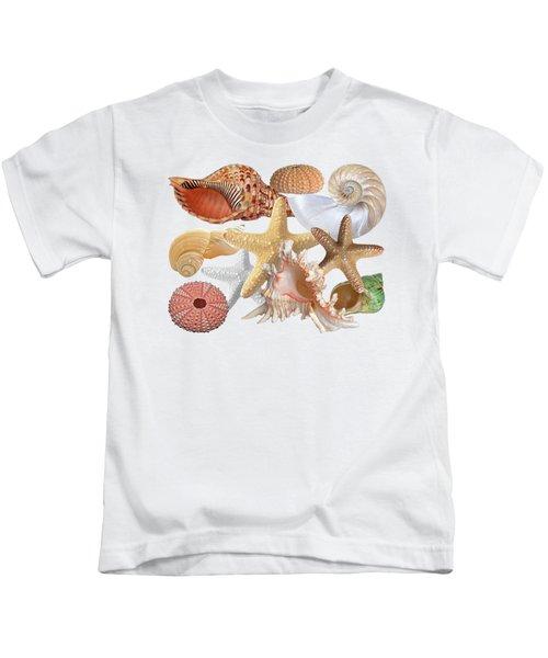 Treasures Of The Deep On White Kids T-Shirt