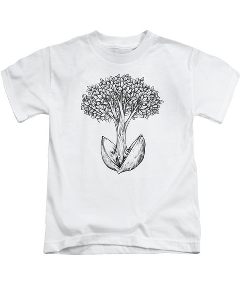 Tree From Seed Kids T-Shirt