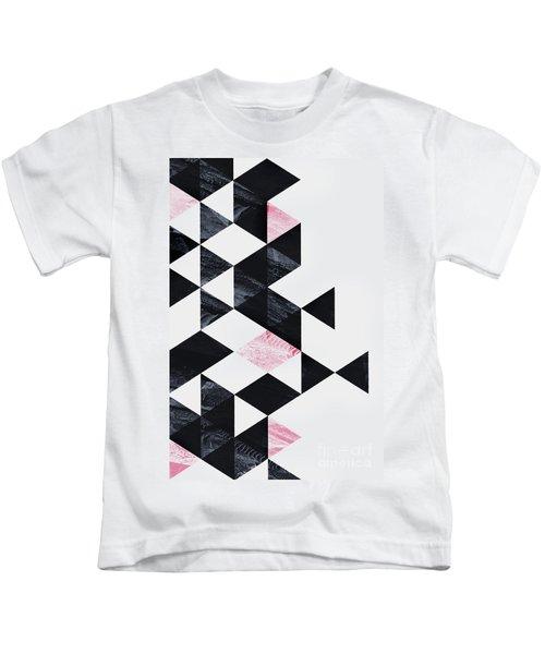Triangle Geometry Kids T-Shirt