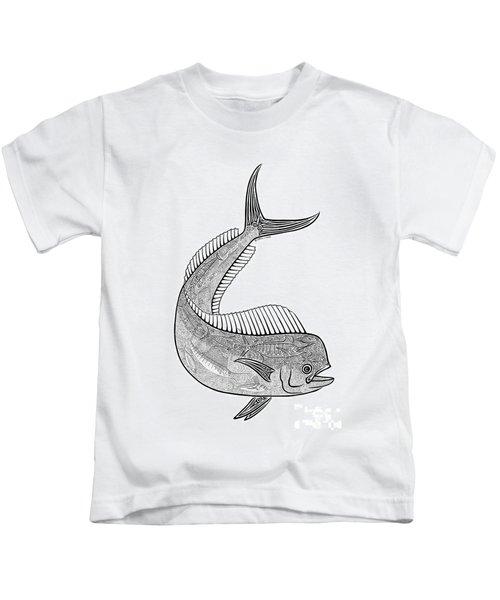 Tribal Mahi  Kids T-Shirt