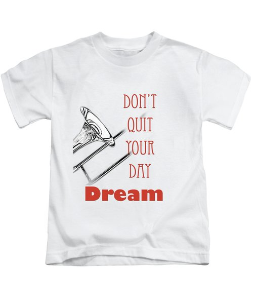 Trombone Fine Art Photographs Art Prints 5017.02 Kids T-Shirt
