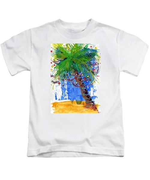Tropical Christmas  Kids T-Shirt