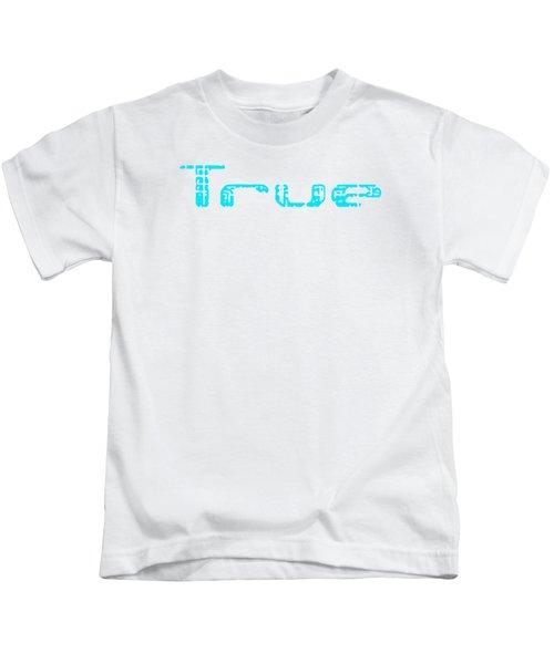 True Three Kids T-Shirt