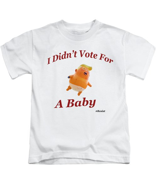 Trump Baby Blimp Kids T-Shirt