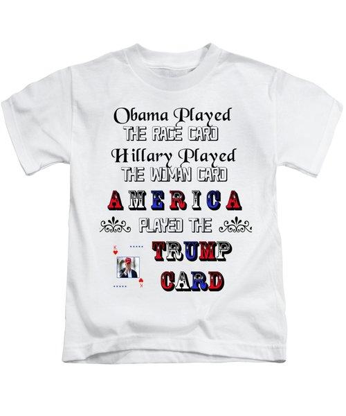 Trump Card Kids T-Shirt