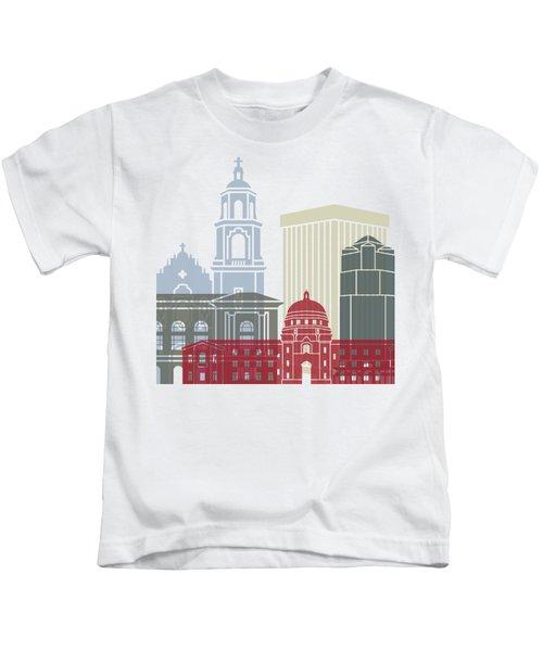 Tucson Skyline Poster Kids T-Shirt