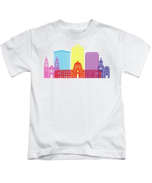 Tucson_v2 Skyline Pop Kids T-Shirt