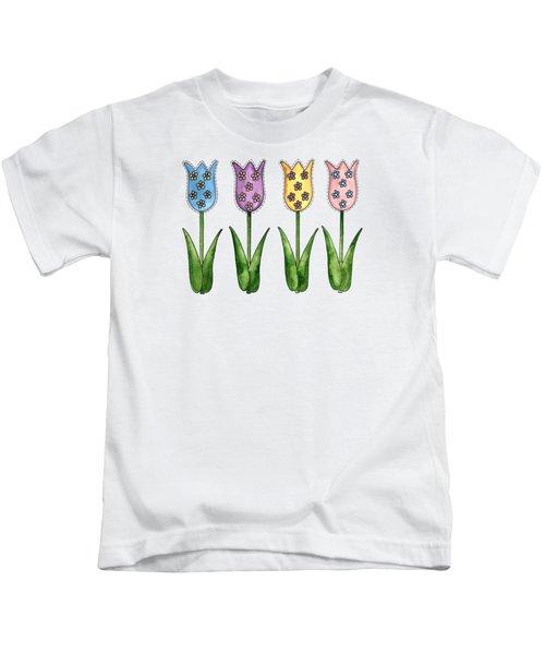 Tulip Row Kids T-Shirt
