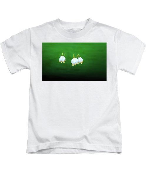Turkey-eggs On Green #g2 Kids T-Shirt