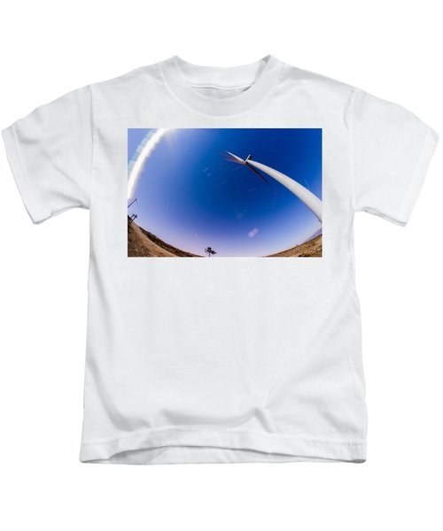 Turning Night Into Day Kids T-Shirt