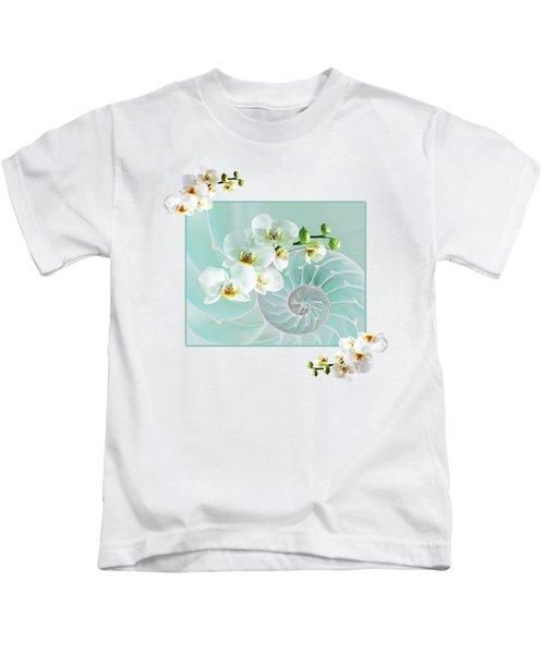 Turquoise Fusion Kids T-Shirt