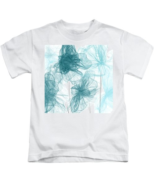 Turquoise In Sync Kids T-Shirt