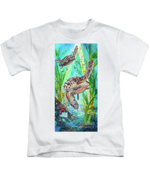 Turtle Cove Kids T-Shirt