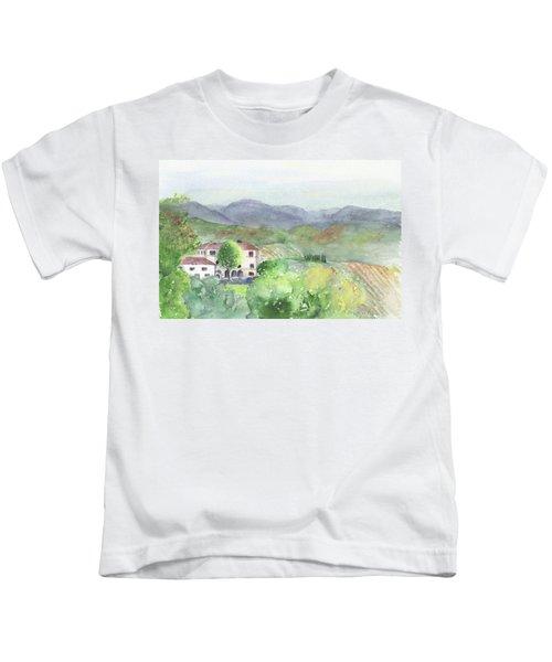 Tuscan Vineyards Kids T-Shirt
