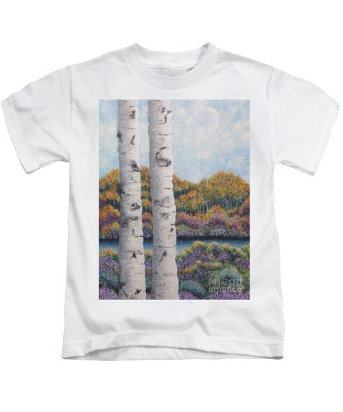 Twin Aspens Kids T-Shirt