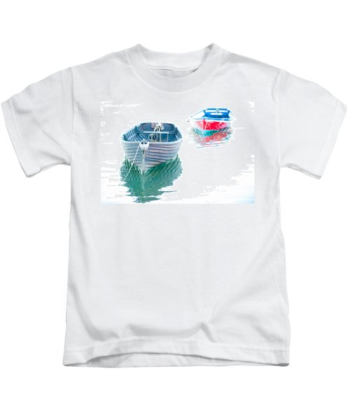 Two Boats Kids T-Shirt