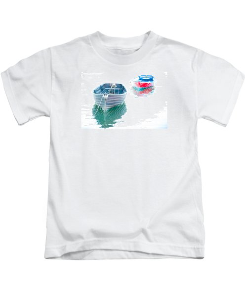 Two Boats Kids T-Shirt