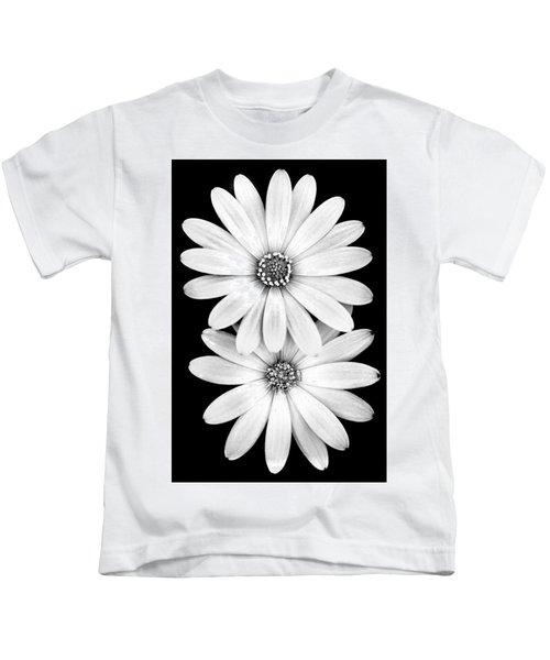 Two Flowers Kids T-Shirt