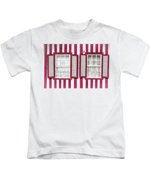 Two Old Windows Kids T-Shirt