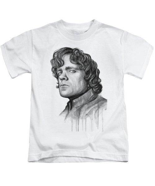Tyrion Lannister Kids T-Shirt by Olga Shvartsur