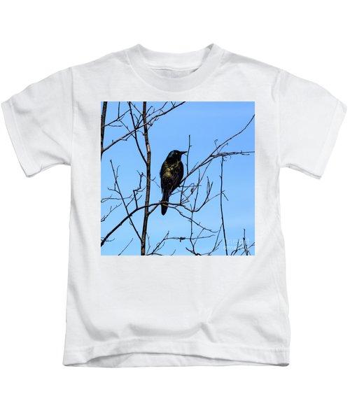 Uncommon Grackle Kids T-Shirt